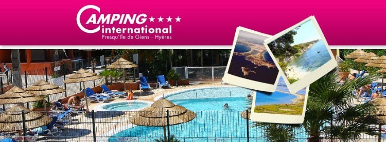 camping international presqu'île de giens